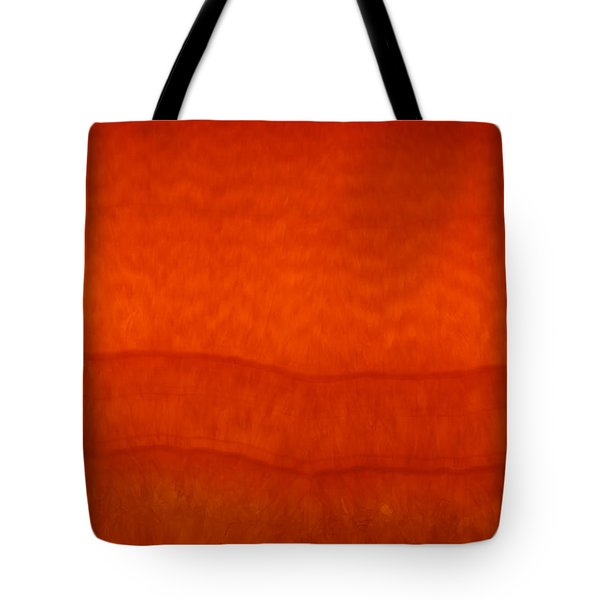 Orange Stone 3 Tote Bag