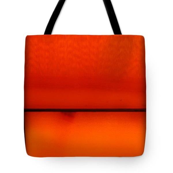 Orange Stone 4 Tote Bag