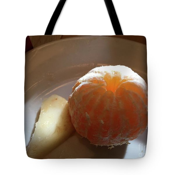 Orangepear Tote Bag