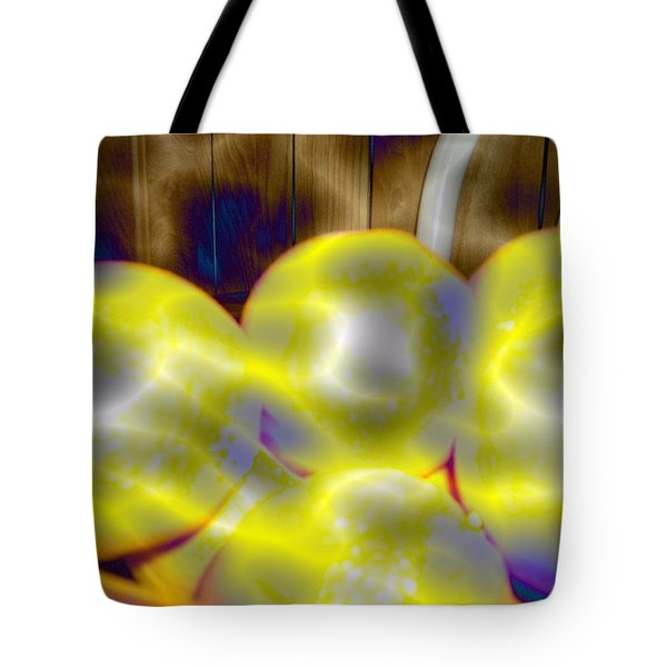 Tote Bag featuring the photograph Oranges In A Basket by Skyler Tipton