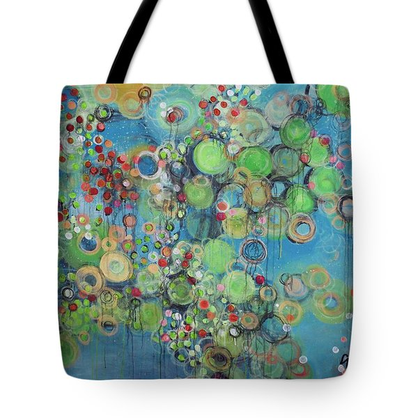 Orangetheory Brighter Than The Sun Tote Bag by Laurie Maves ART