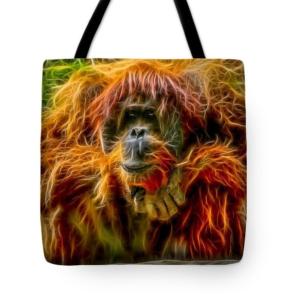 Orangutan Inspiration Tote Bag