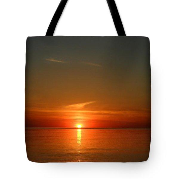 Orangy Skies Tote Bag