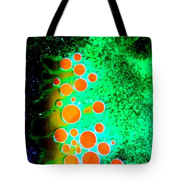 Orb Dragon Tote Bag