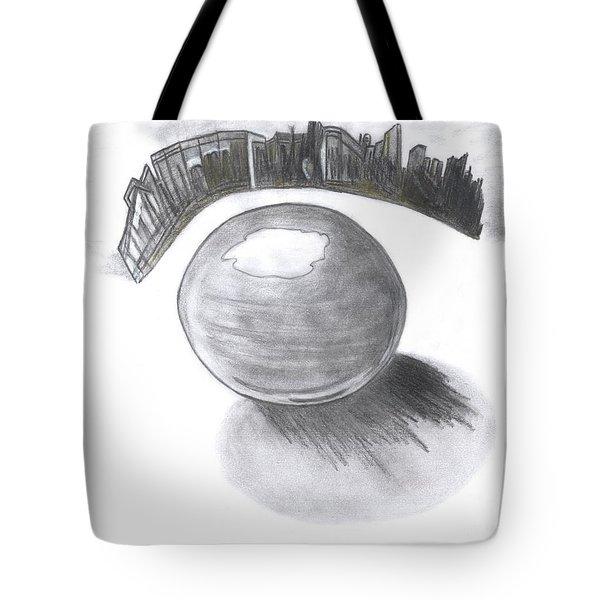 Orb Landing Tote Bag