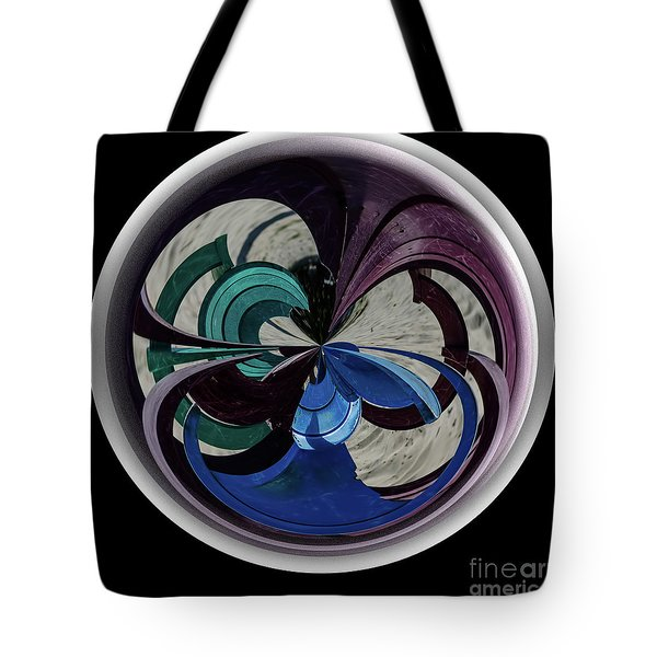 Orb Lineup Tote Bag by Judy Wolinsky