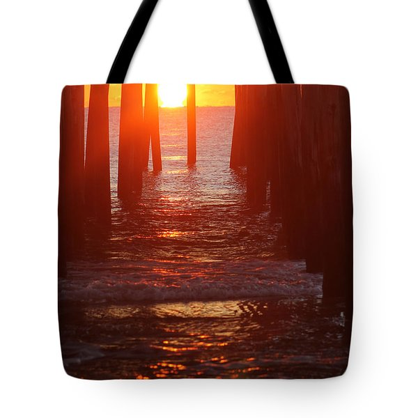 Orb On The Water Tote Bag by Robert Banach