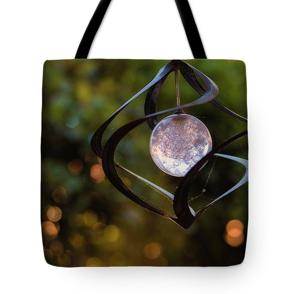 Tote Bag featuring the photograph Orb by Tim Nichols