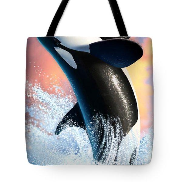 Orca 1 Tote Bag