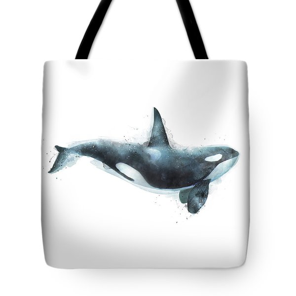 Orca Tote Bag by Amy Hamilton
