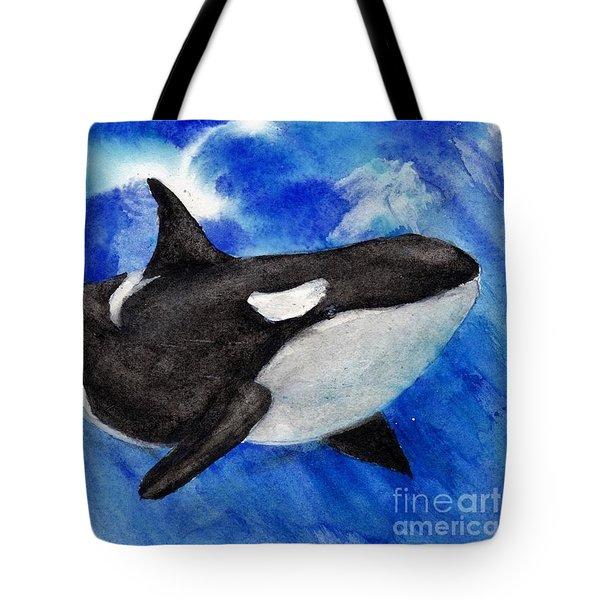 Orca Baby Tote Bag