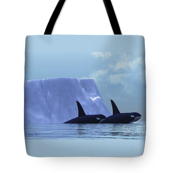 Orca Tote Bag by Corey Ford