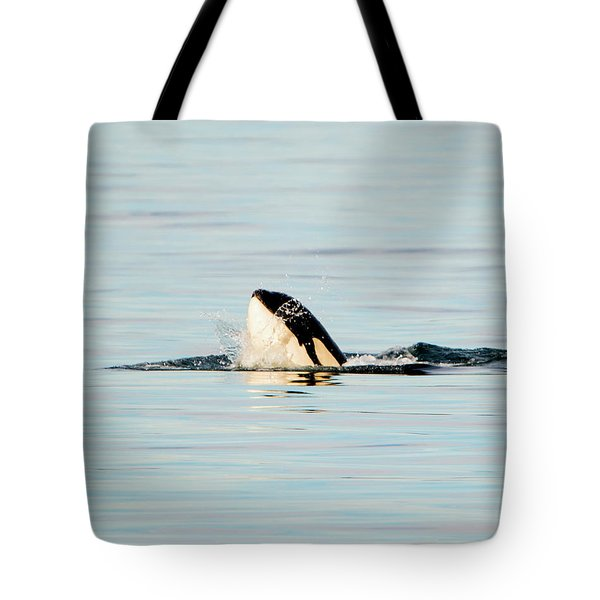 Orca Spy Hop Splash Tote Bag