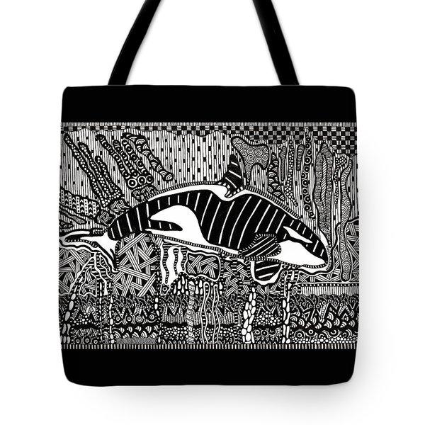 Orca Tangle Tote Bag