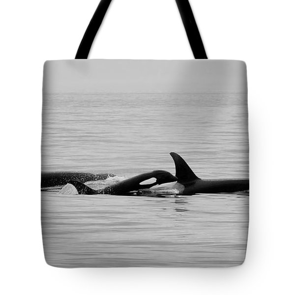 Orcas Bw Tote Bag