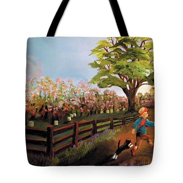 Orchard And Barn Tote Bag