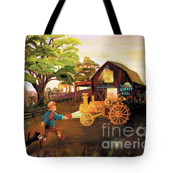 Orchard And Barn Tote Bag