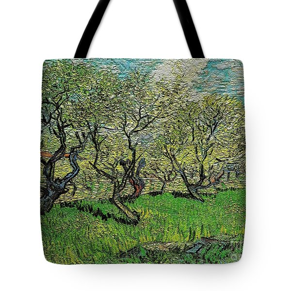 Orchard In Blossom Tote Bag