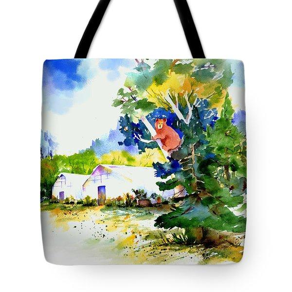 Orchard Springs Bear Tote Bag