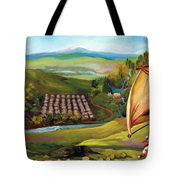 Orchard Valley Tote Bag