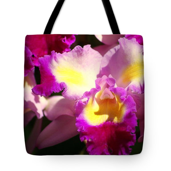 Orchid 1 Tote Bag by Marty Koch