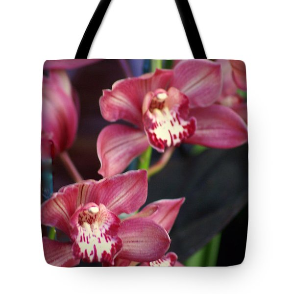 Orchid 14 Tote Bag by Marty Koch