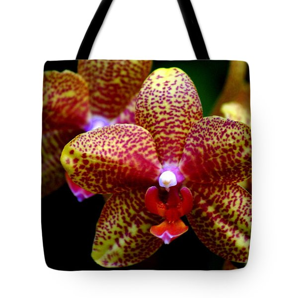 Orchid 15 Tote Bag by Marty Koch