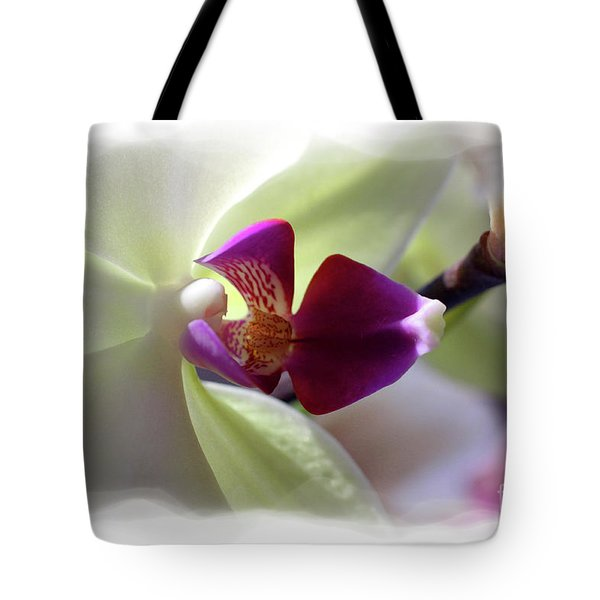 Orchid 2 Tote Bag by David Bearden