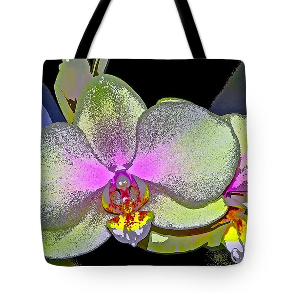 Orchid 2 Tote Bag by Pamela Cooper