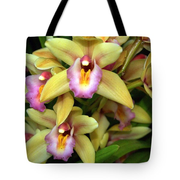 Orchid 7 Tote Bag by Marty Koch