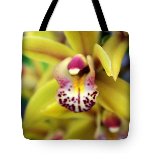 Orchid 9 Tote Bag by Marty Koch