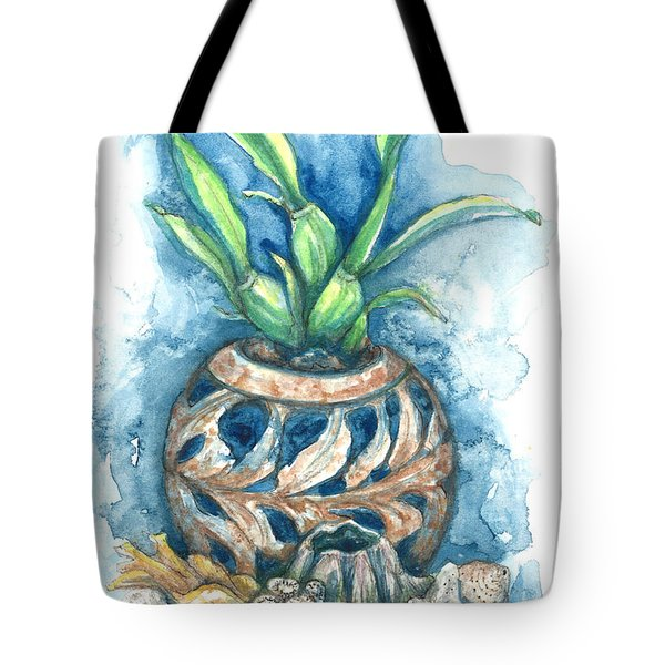 Orchid And Barnacle Tote Bag