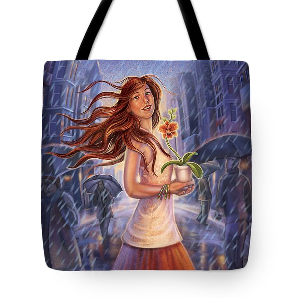 Orchid - Be Yourself Tote Bag