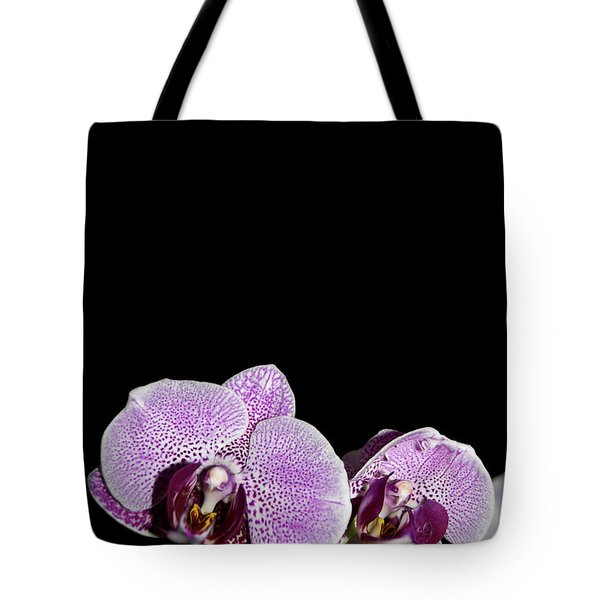 Orchid Blooms Tote Bag