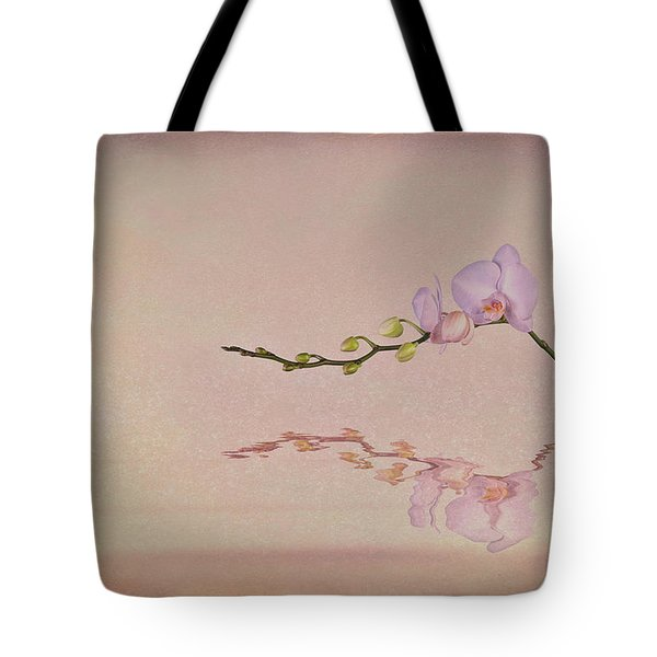 Orchid Blooms And Buds Tote Bag