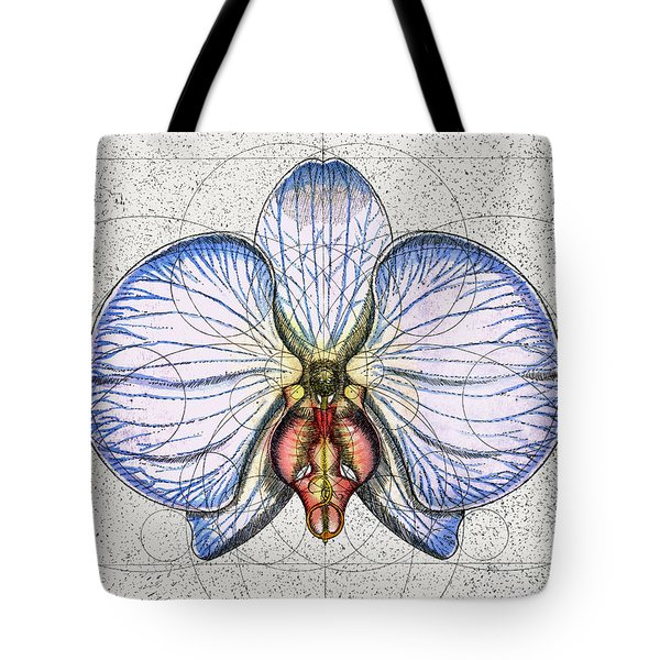 Orchid Tote Bag by Charles Harden