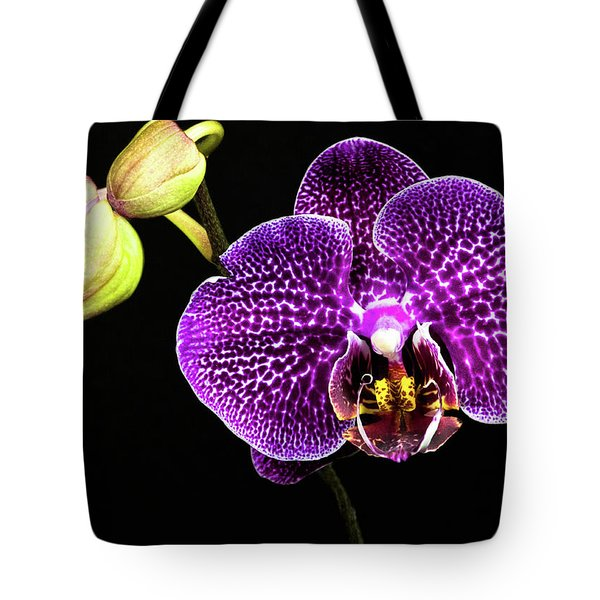 Orchid Tote Bag by Christopher Holmes