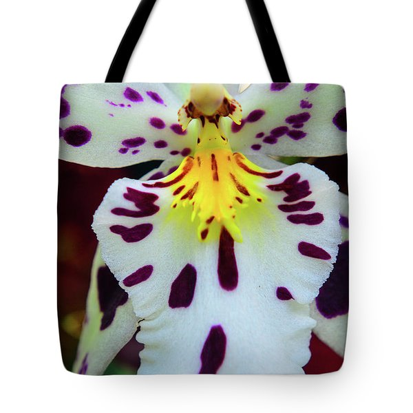 Orchid Cross Tote Bag