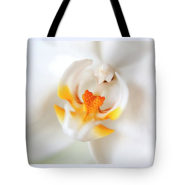 Tote Bag featuring the photograph Orchid Detail by Ariadna De Raadt
