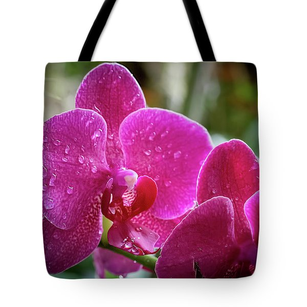 Orchid Dew Tote Bag