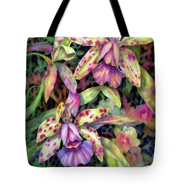 Orchid Garden I Tote Bag