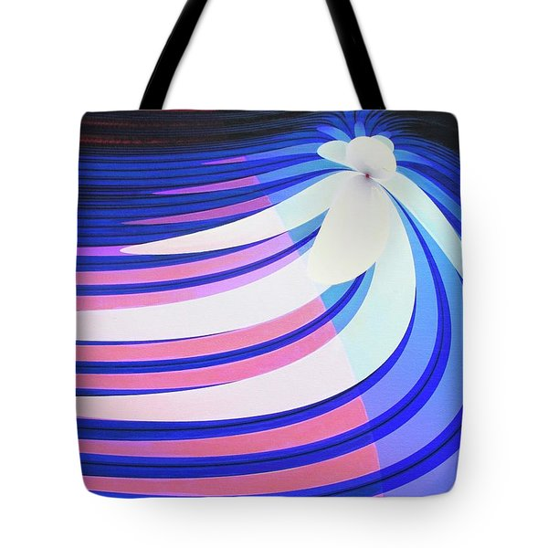 Orchid In A Stream Tote Bag