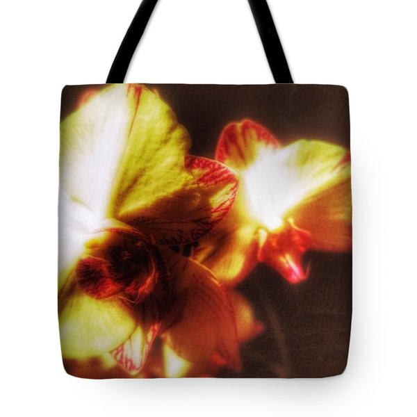 Tote Bag featuring the photograph Orchid by Isabella F Abbie Shores FRSA
