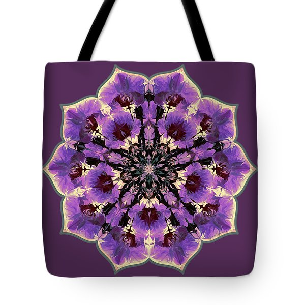 Orchid Lotus Tote Bag