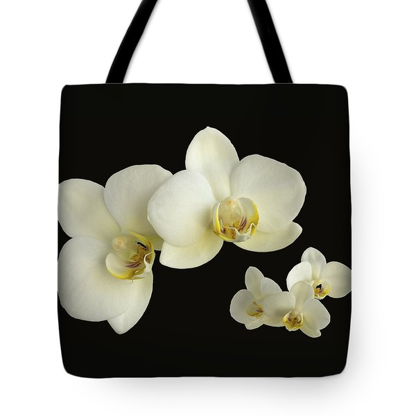 Orchid Montage Tote Bag by Hazy Apple