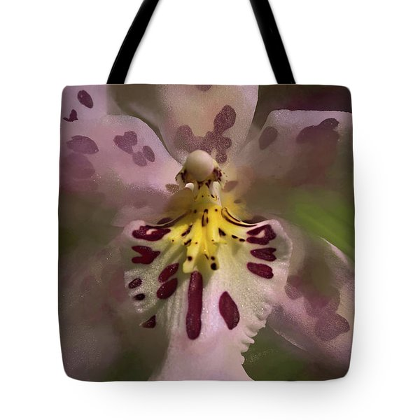 Tote Bag featuring the photograph Orchid Mysterious by Richard Goldman