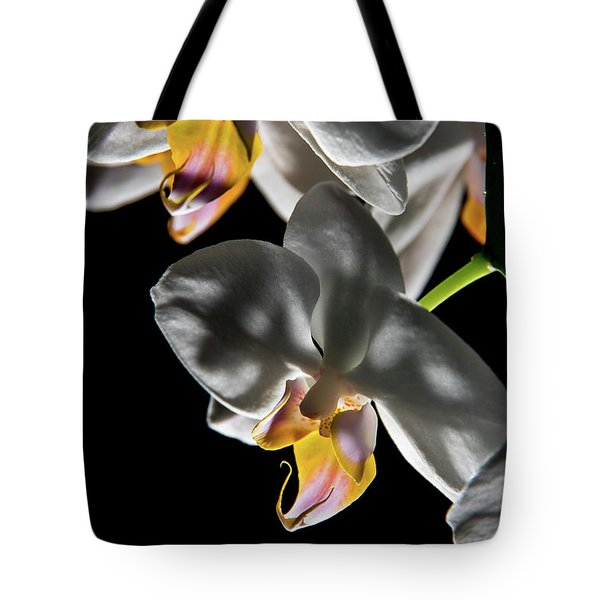Orchid On Fire Tote Bag