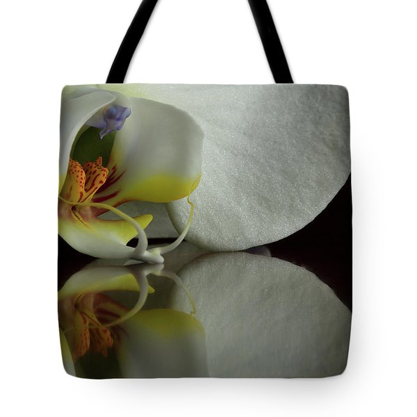 Orchid Reflected Tote Bag