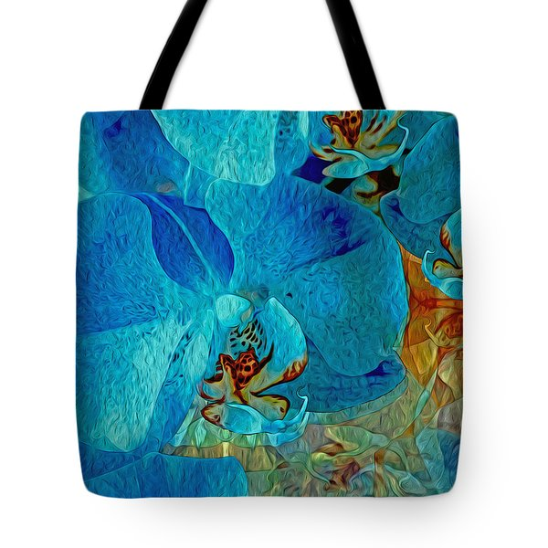 Orchid Reverie 10 Tote Bag
