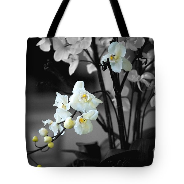 Orchid Selective Color Tote Bag